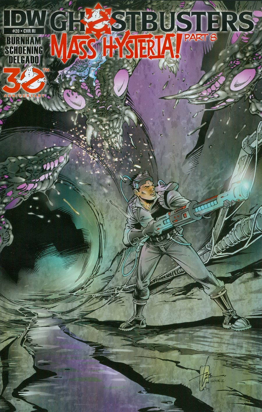 New Ghostbusters #20 Cover C Incentive Roberto Goiriz Variant Cover