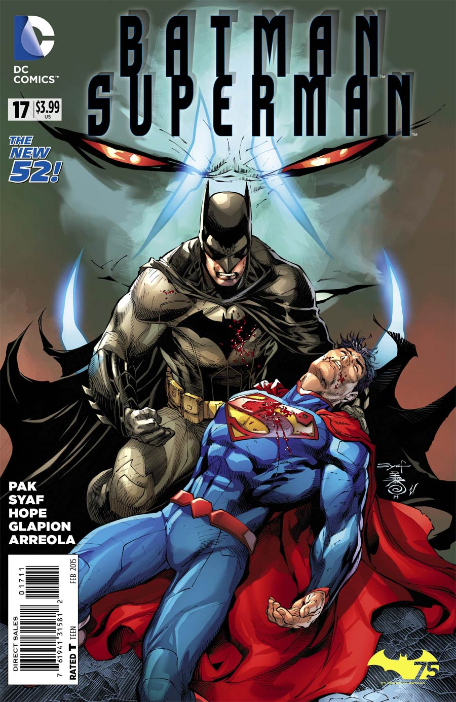 Batman Superman #17 Cover A Regular Ardian Syaf Cover