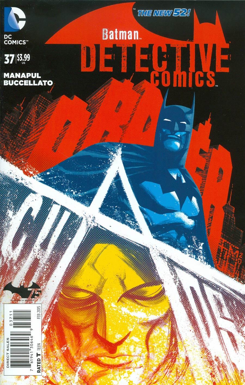 Detective Comics Vol 2 #37 Cover A Regular Francis Manapul Cover