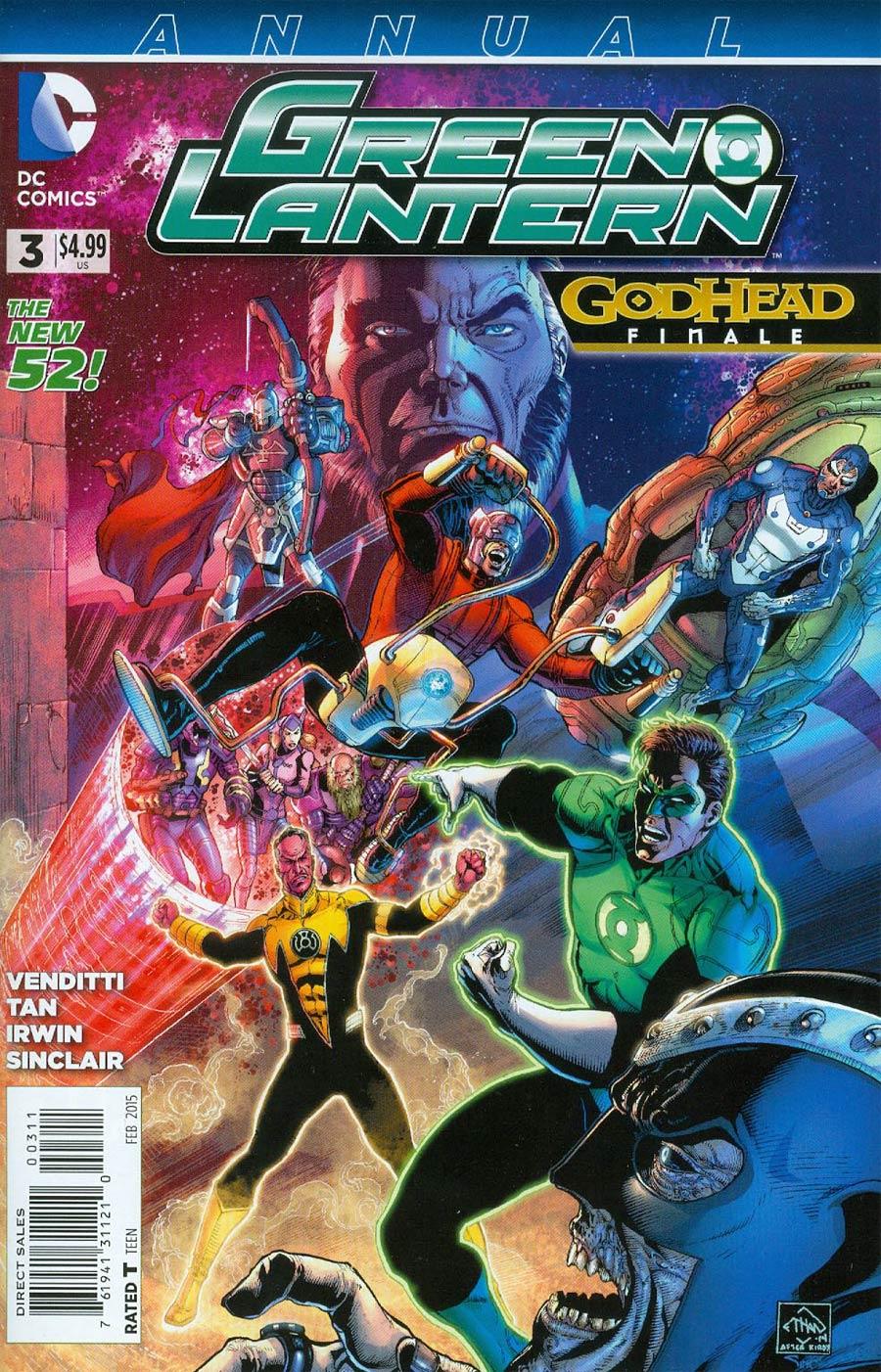 Green Lantern Vol 5 Annual #3 (Godhead Act 3 Part 6)