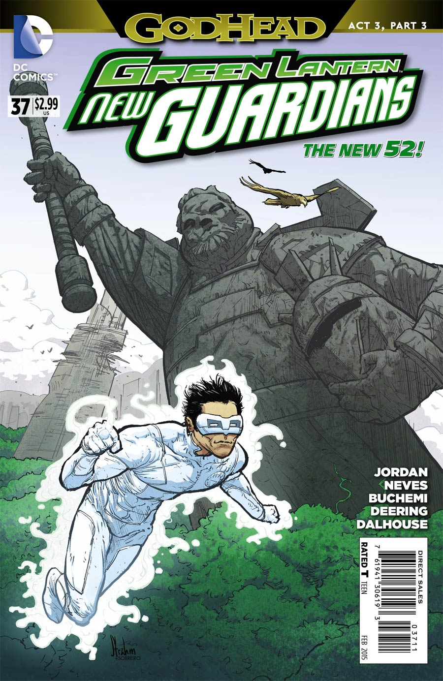 Green Lantern New Guardians #37 (Godhead Act 3 Part 3)
