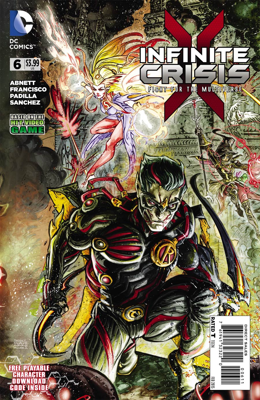 Infinite Crisis Fight For The Multiverse #6