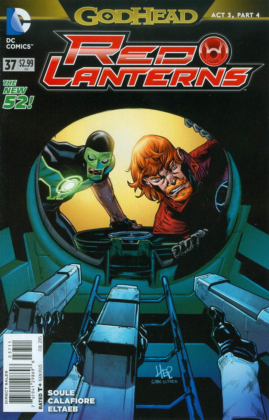 Red Lanterns #37 (Godhead Act 3 Part 4)