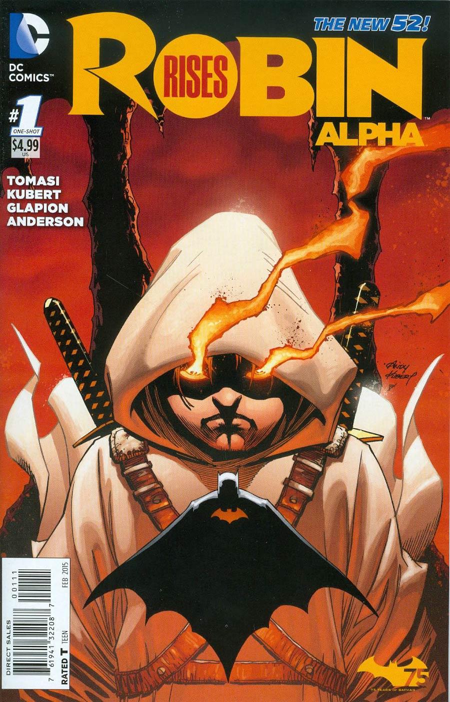 Robin Rises Alpha #1 Cover A Regular Andy Kubert Cover