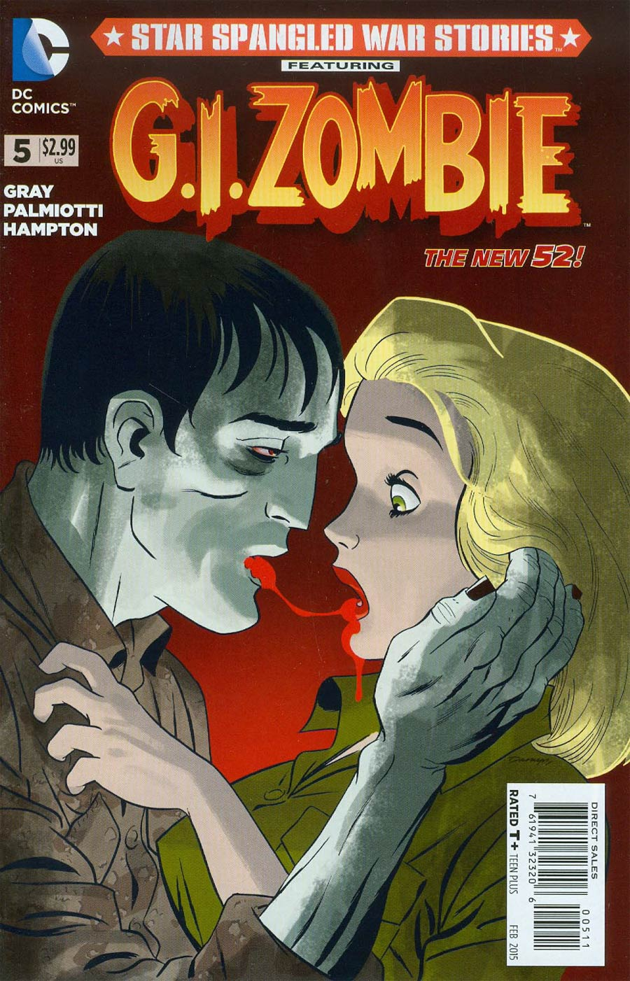 Star-Spangled War Stories Featuring GI Zombie #5