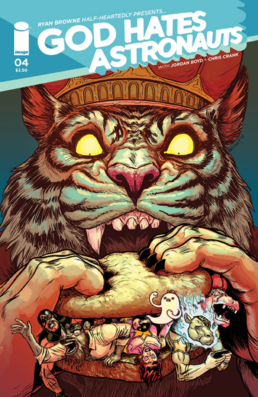 God Hates Astronauts #4 Cover A Ryan Browne