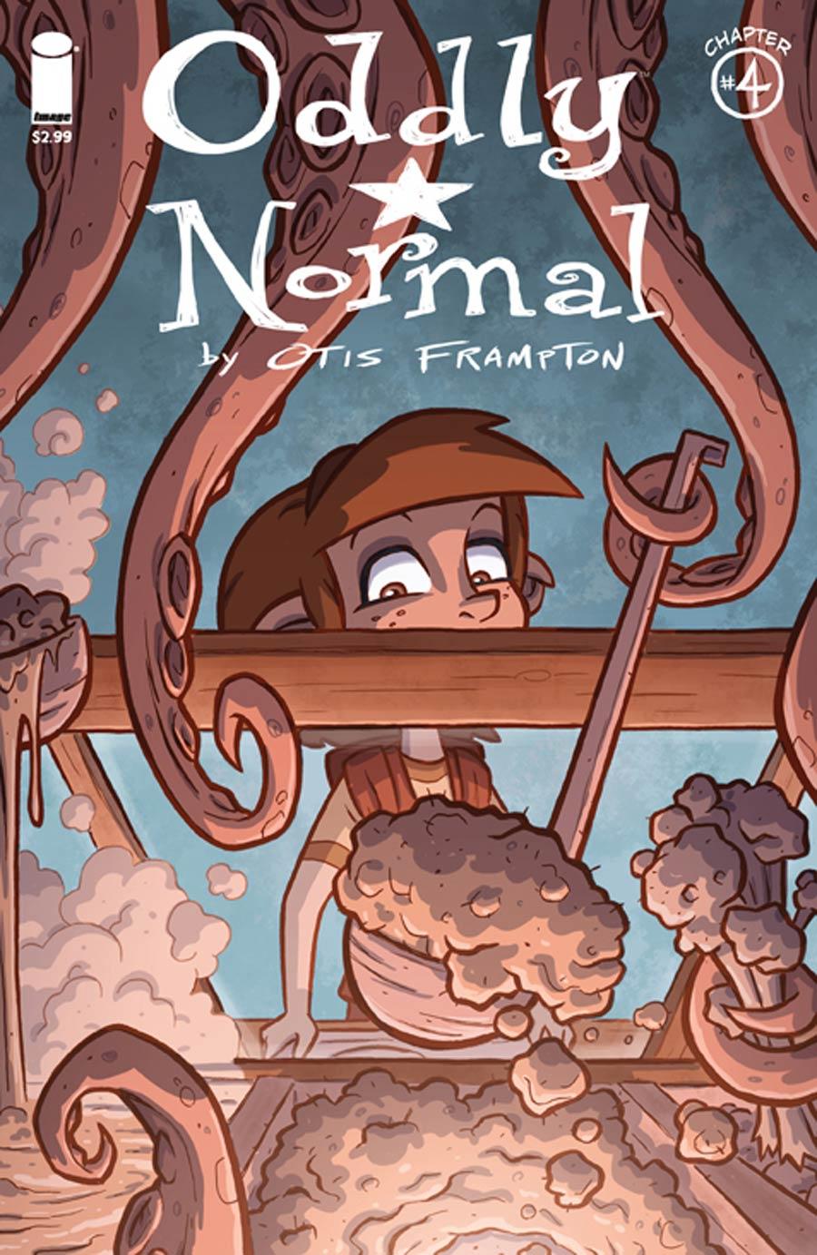 Oddly Normal Vol 2 #4 Cover A Otis Frampton