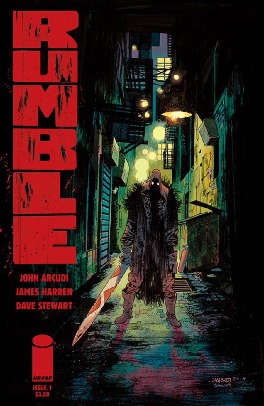 Rumble #1 Cover A Regular James Harren Cover
