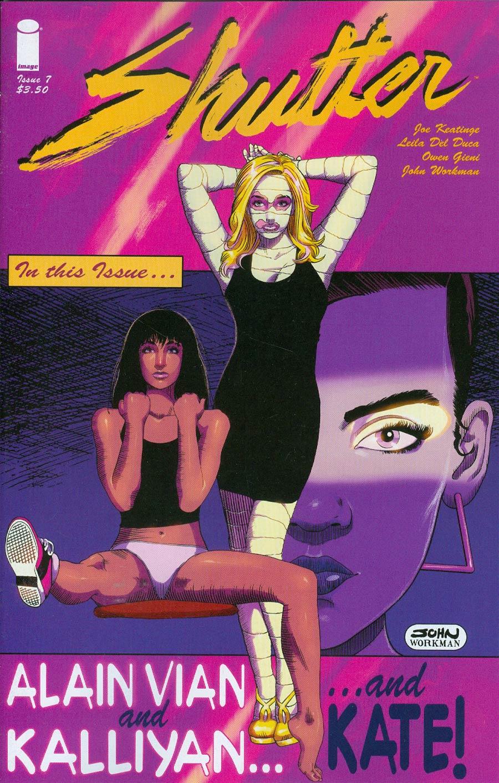 Shutter #7 Cover D John Workman