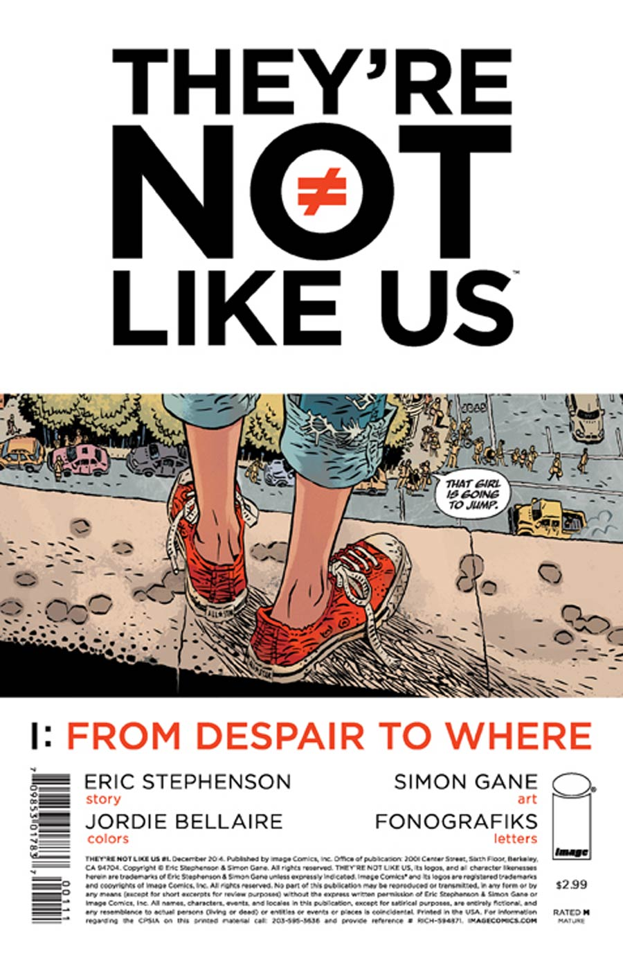 Theyre Not Like Us #1 Cover A 1st Ptg
