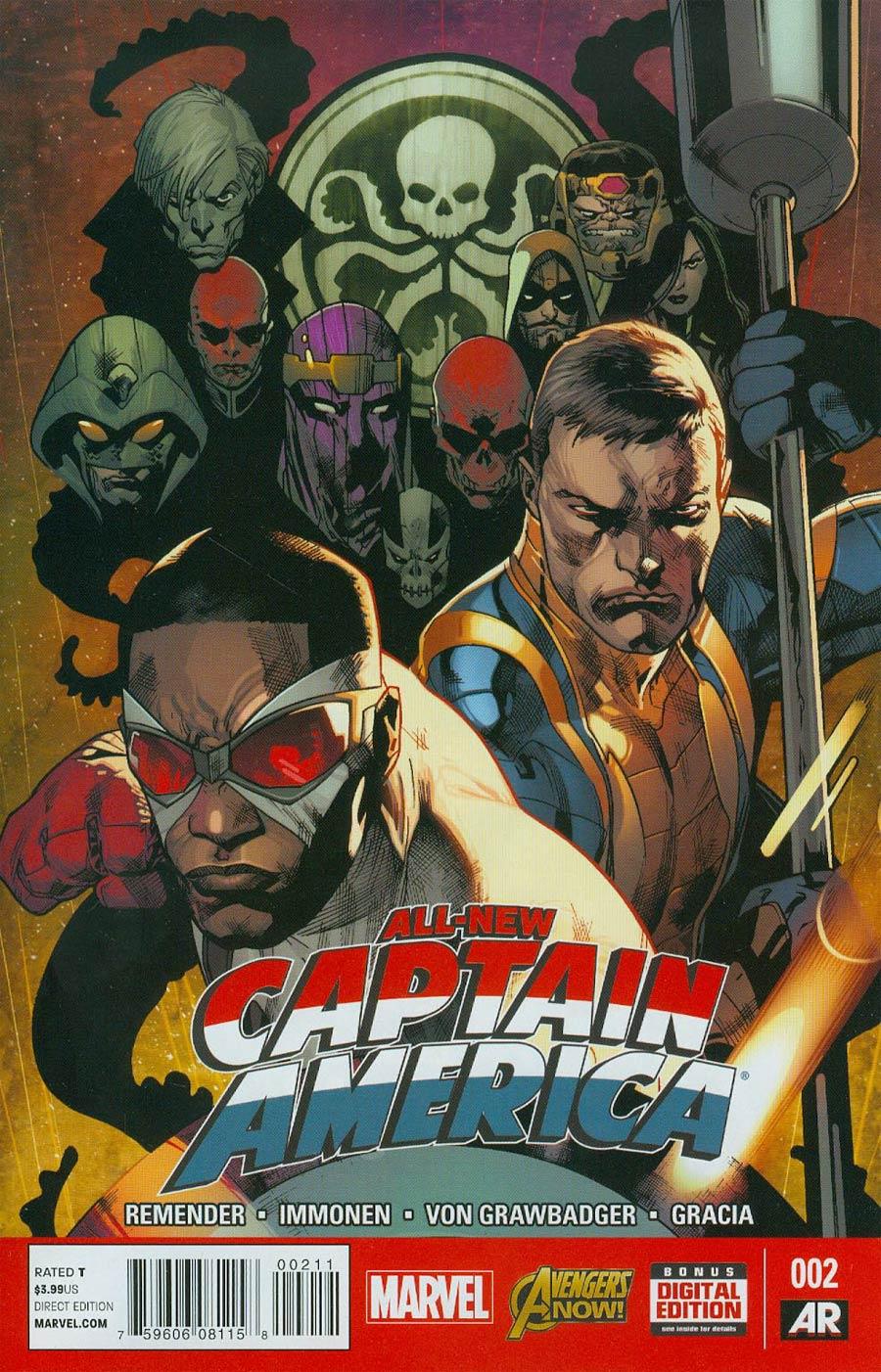 All-New Captain America #2 Cover A Regular Stuart Immonen Cover
