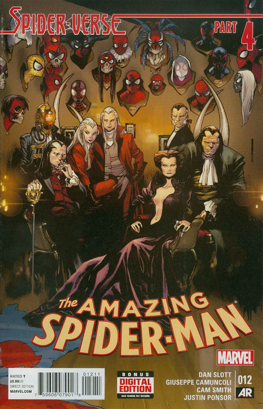 Amazing Spider-Man Vol 3 #12 Cover A Regular Olivier Coipel Cover (Spider-Verse Tie-In)