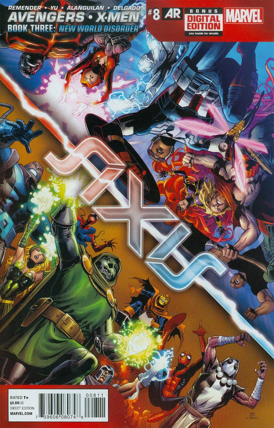 Avengers & X-Men AXIS #8 Cover A Regular Jim Cheung Cover