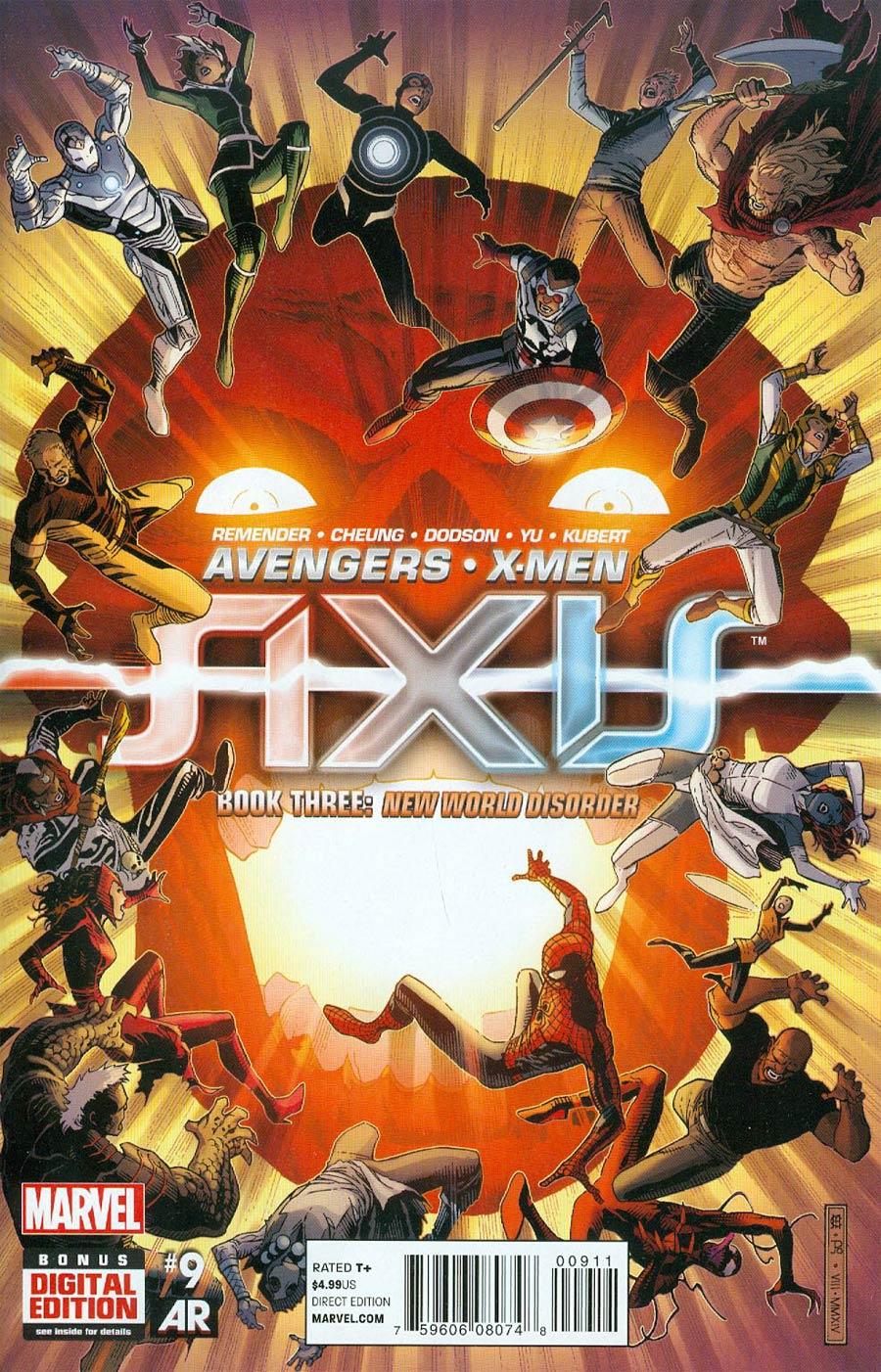 Avengers & X-Men AXIS #9 Cover A Regular Jim Cheung Cover