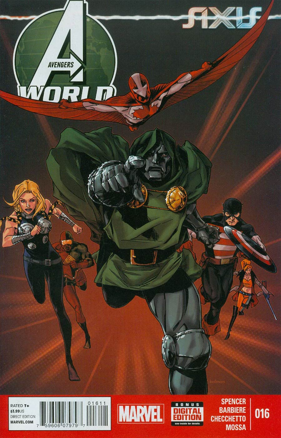 Avengers World #16 (AXIS Tie-In)