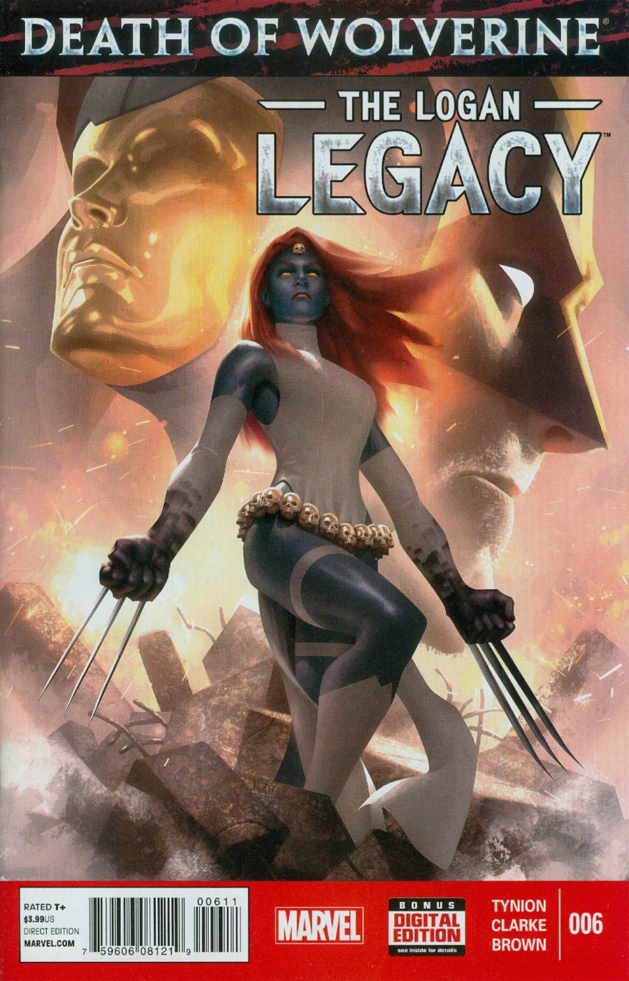 Death Of Wolverine Logan Legacy #6 Cover A Regular Alex Garner Cover
