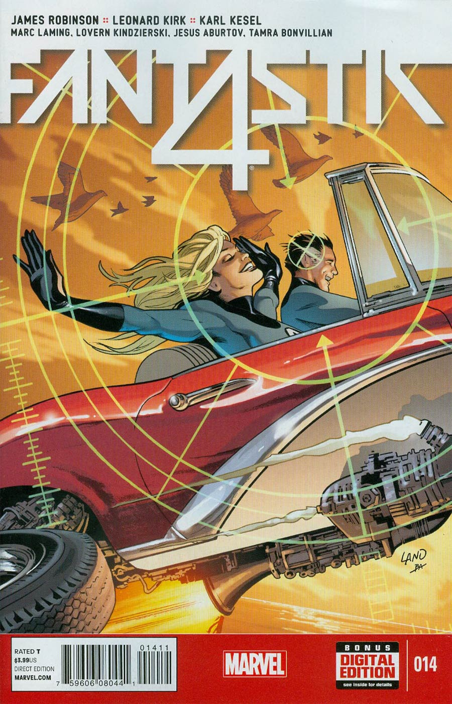 Fantastic Four Vol 5 #14