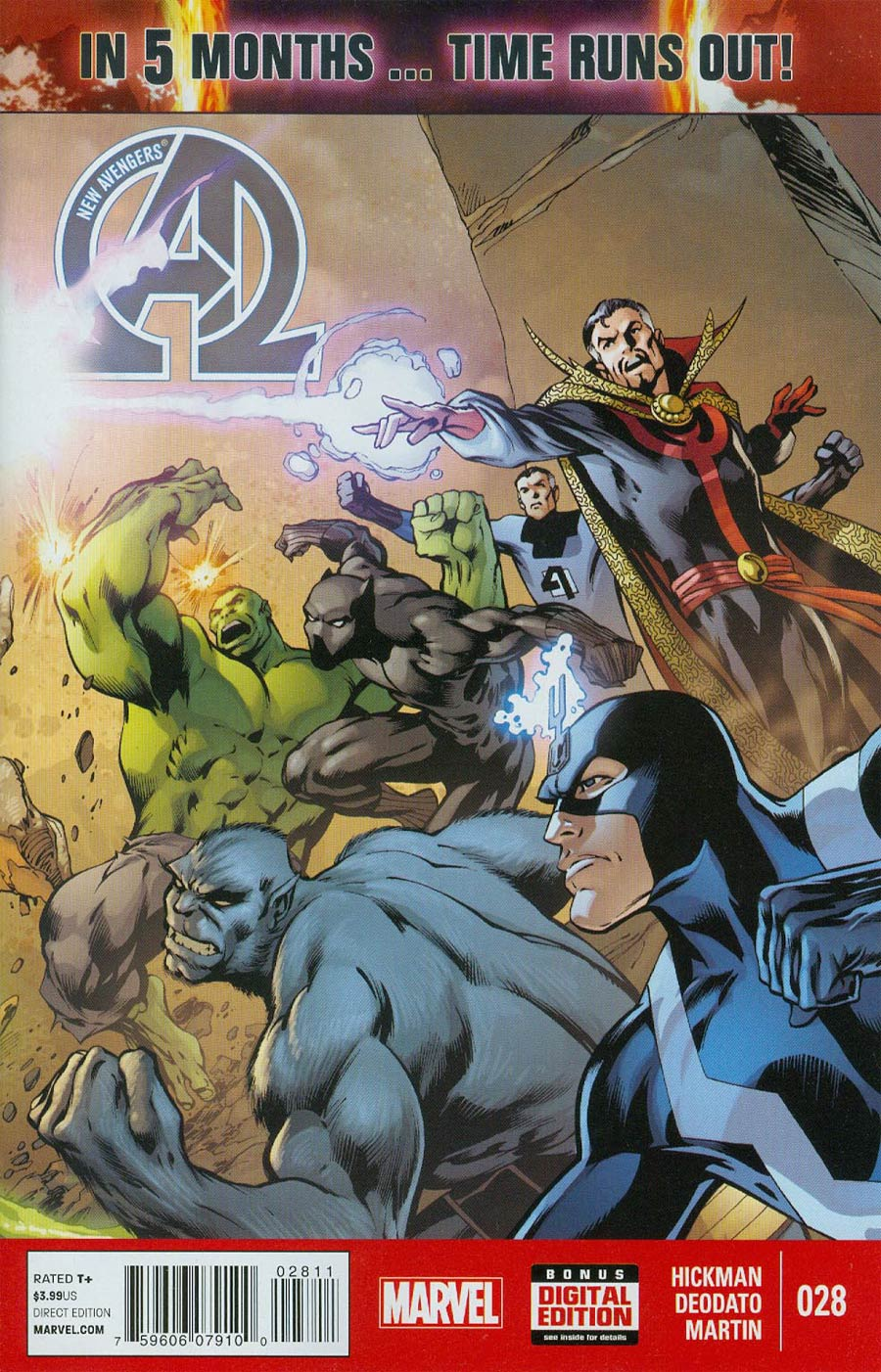 New Avengers Vol 3 #28 (Time Runs Out Tie-In)