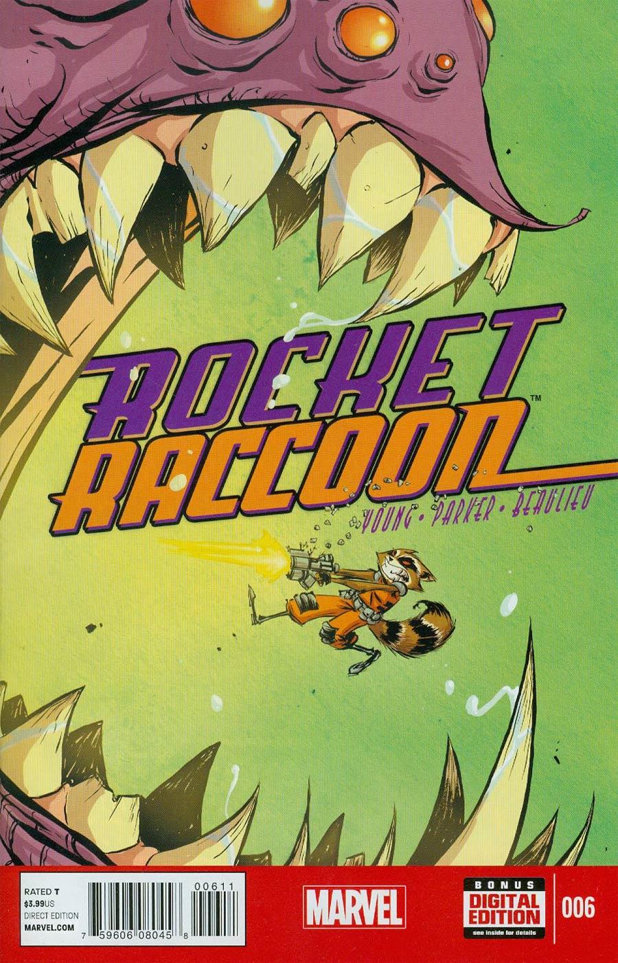 Rocket Raccoon Vol 2 #6
