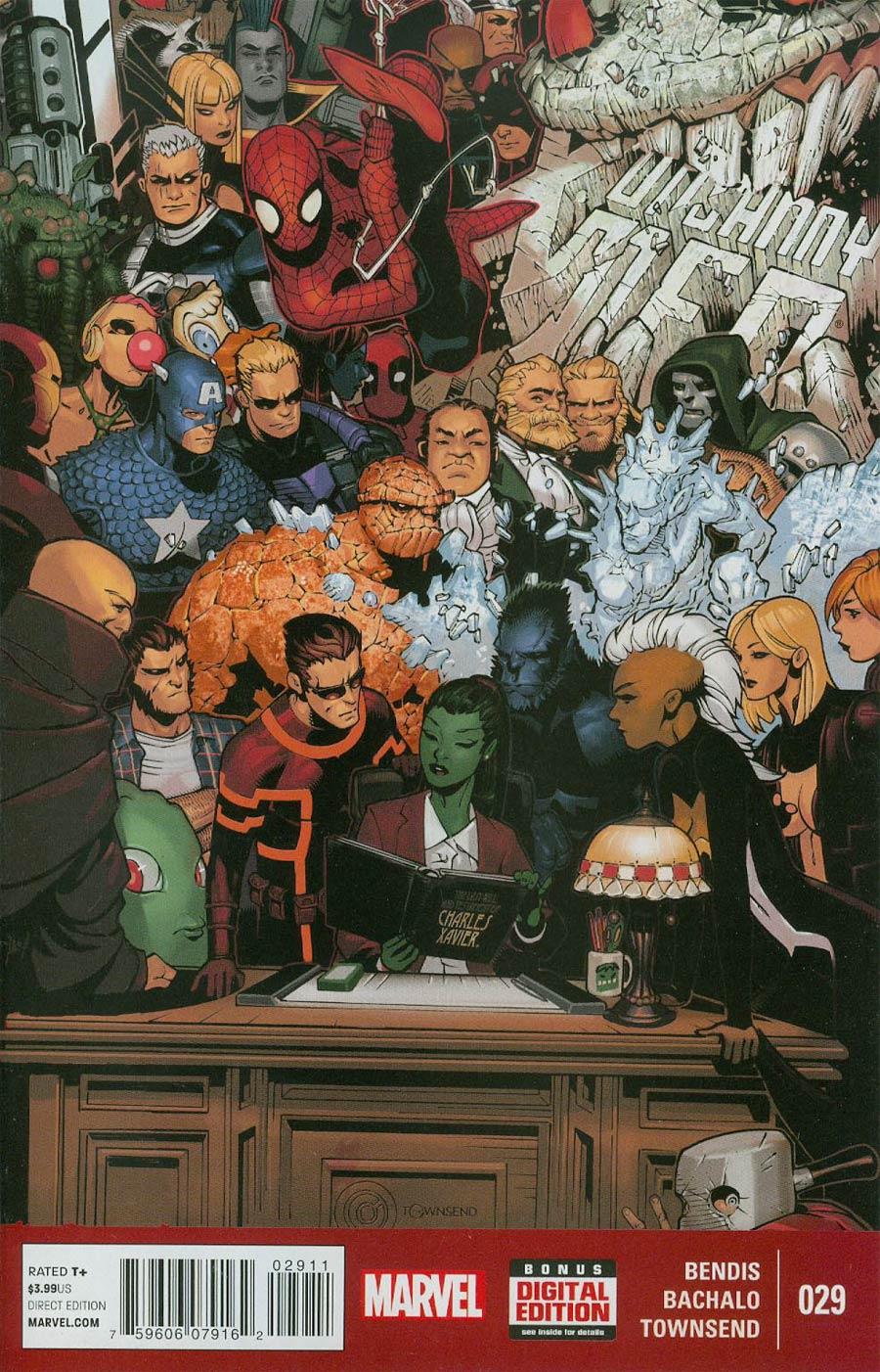Uncanny X-Men Vol 3 #29 Cover A Regular Chris Bachalo Cover