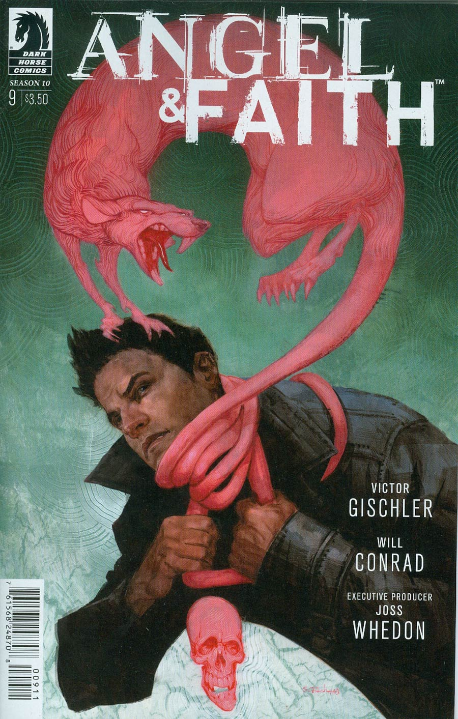 Angel And Faith Season 10 #9 Cover A Regular Scott Fischer Cover
