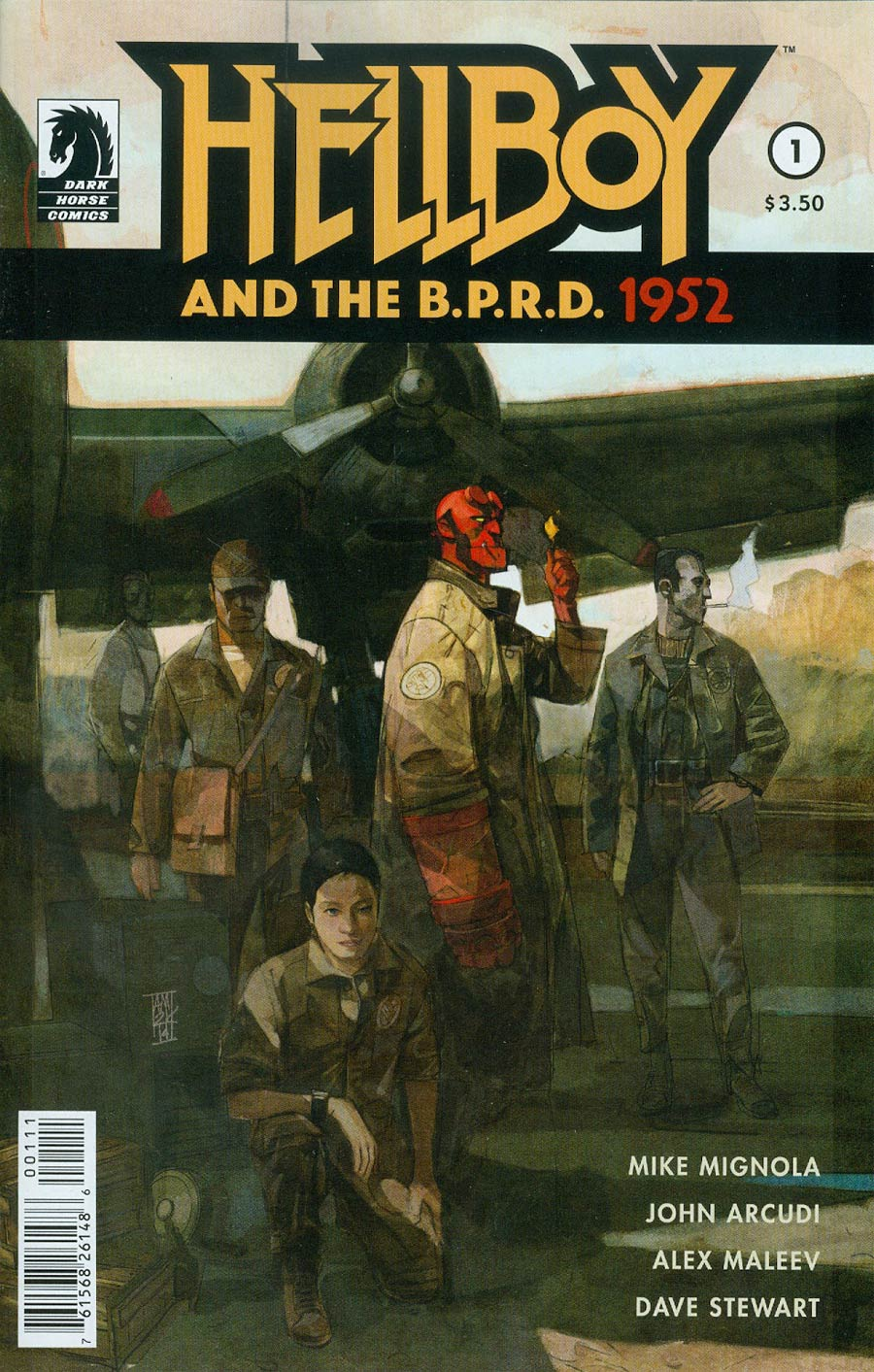 Hellboy And The BPRD 1952 #1 Cover A Regular Alex Maleev Cover