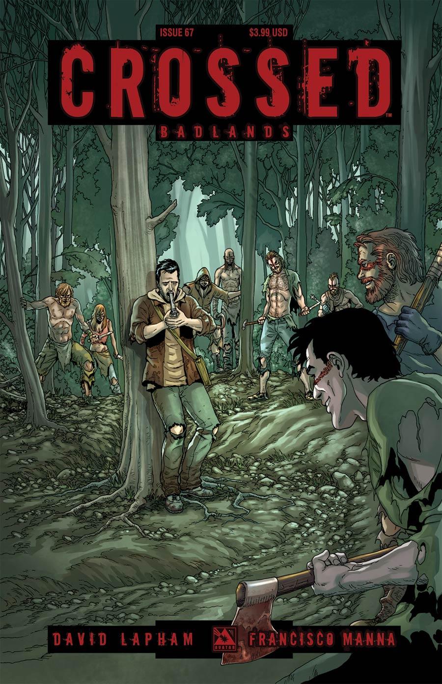 Crossed Badlands #67 Cover A Regular Cover