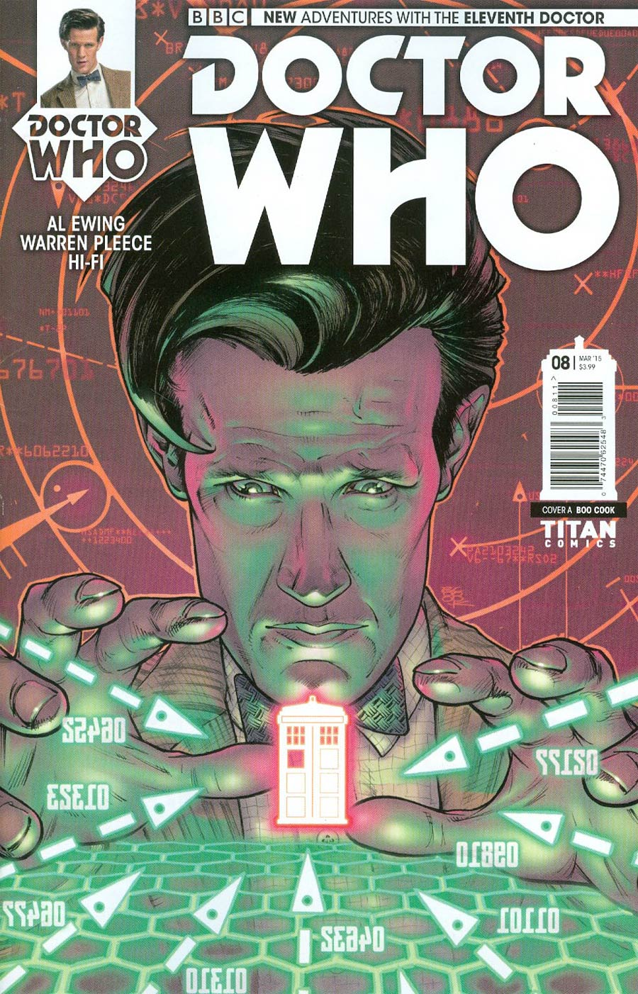 Doctor Who 11th Doctor #8 Cover A Regular Boo Cook Cover