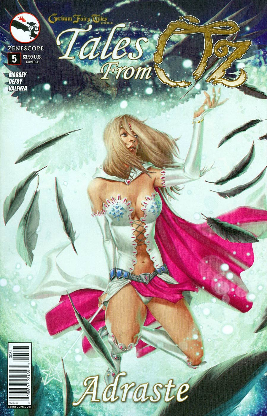 Grimm Fairy Tales Presents Tales From Oz #5 Adraste Cover A Jarreau Wimberly
