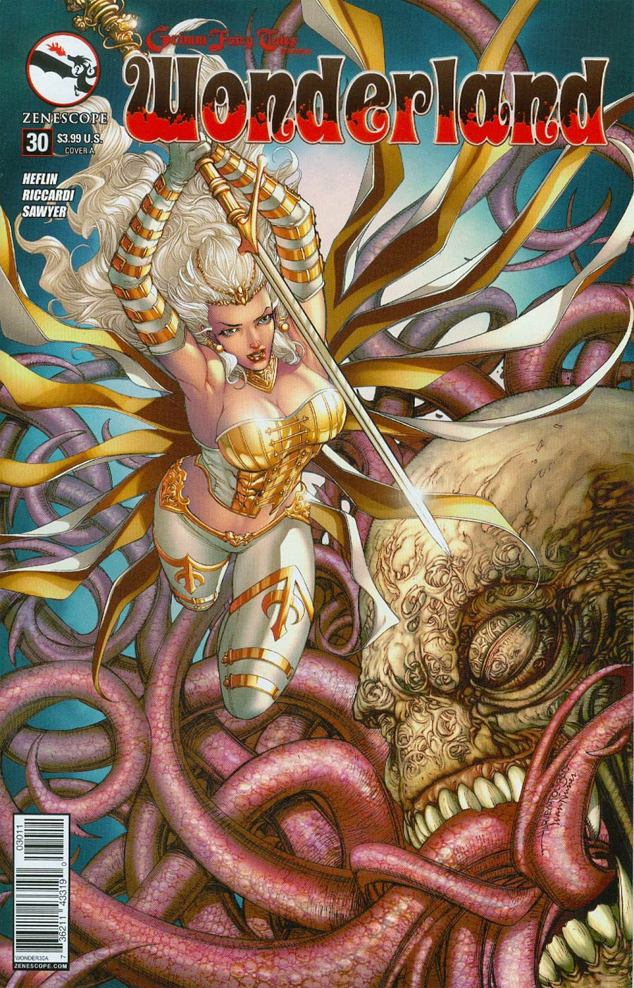 Grimm Fairy Tales Presents Wonderland Vol 2 #30 Cover A Harvey Tolibao