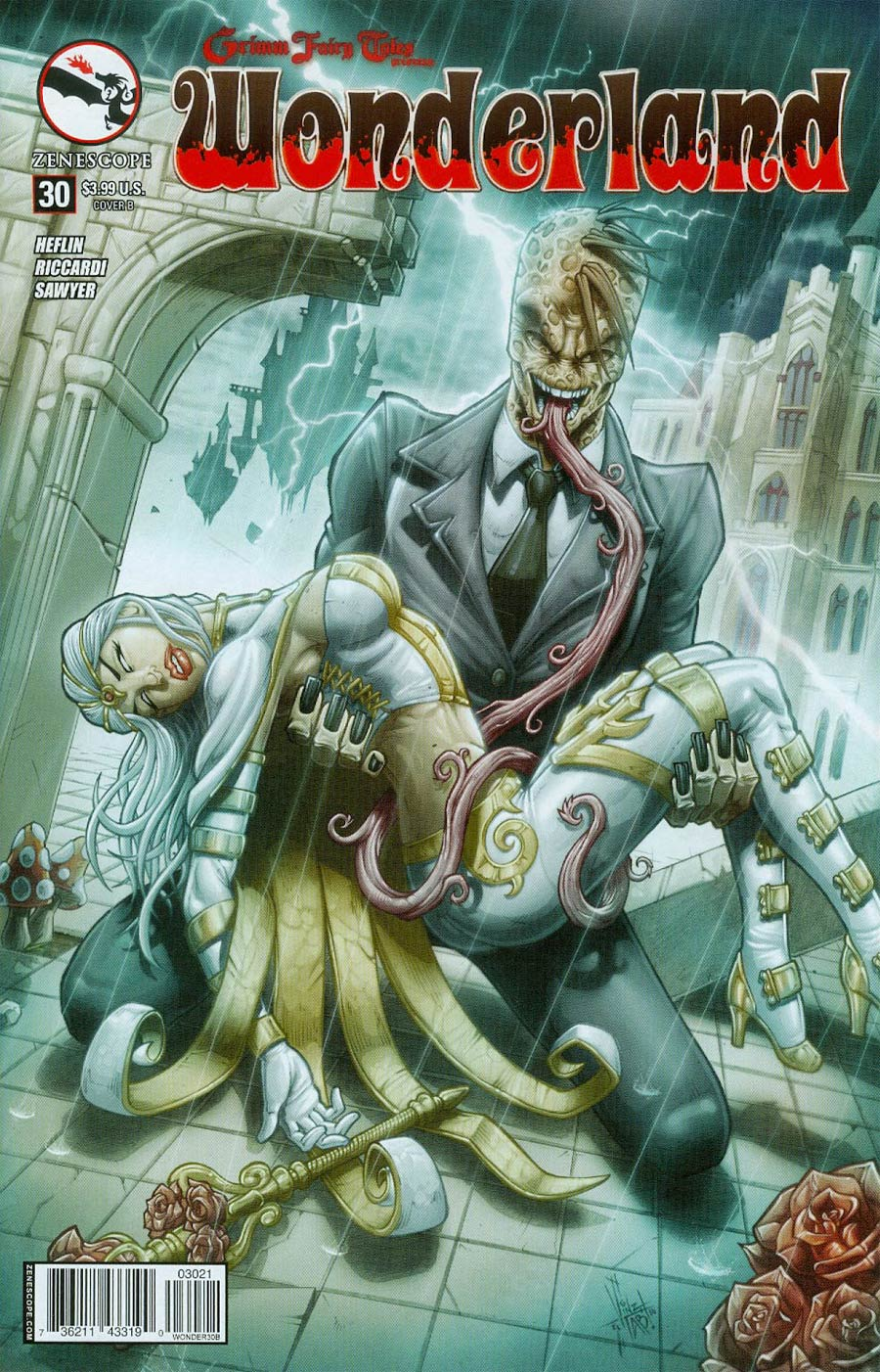 Grimm Fairy Tales Presents Wonderland Vol 2 #30 Cover B Vinz el Tabanas