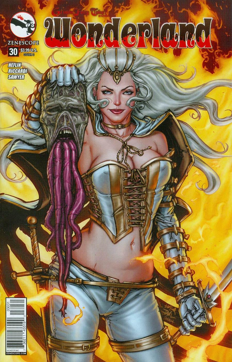 Grimm Fairy Tales Presents Wonderland Vol 2 #30 Cover C Daniel Leister