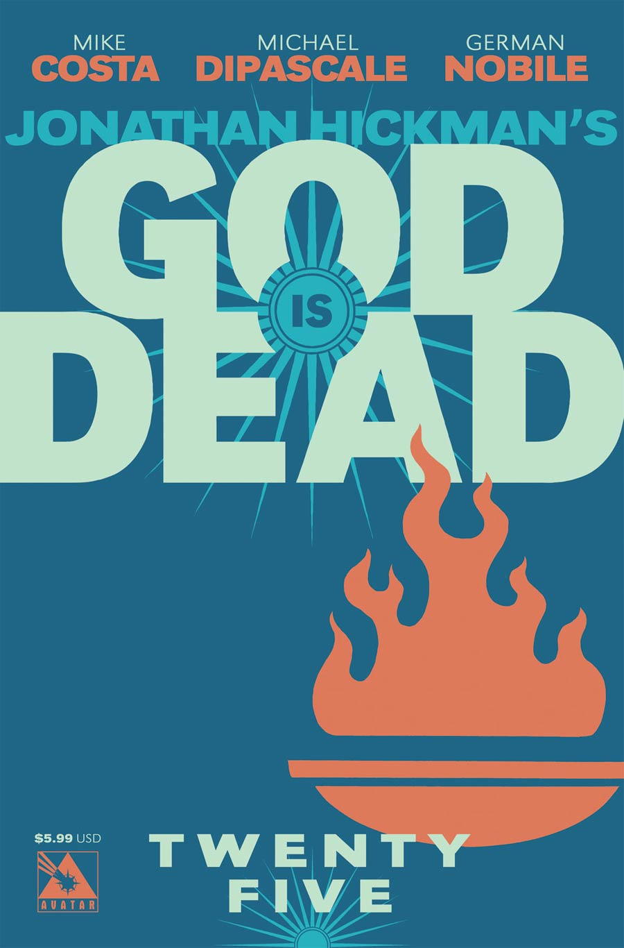 God Is Dead #25 Cover A Regular Cover
