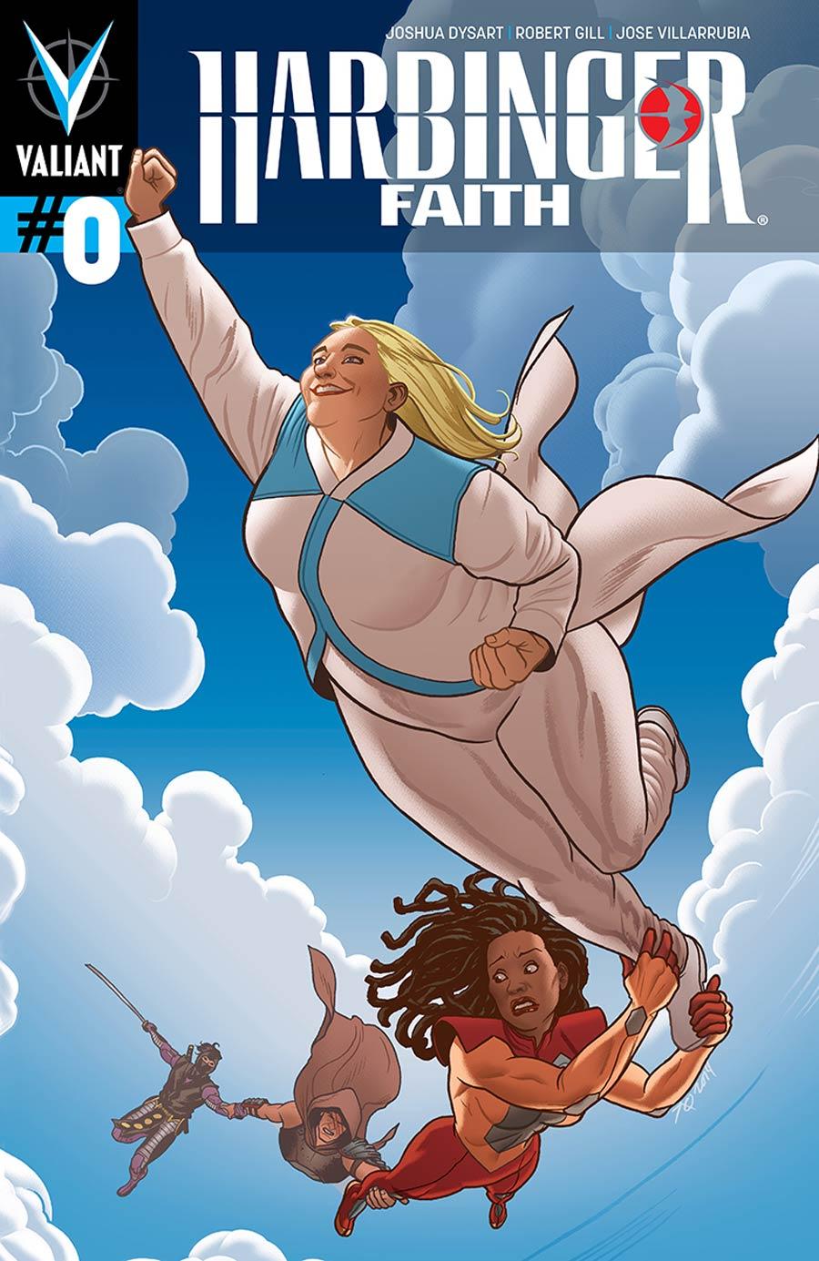 Harbinger Vol 2 Faith #0 Cover A Regular Joe Quinones Cover