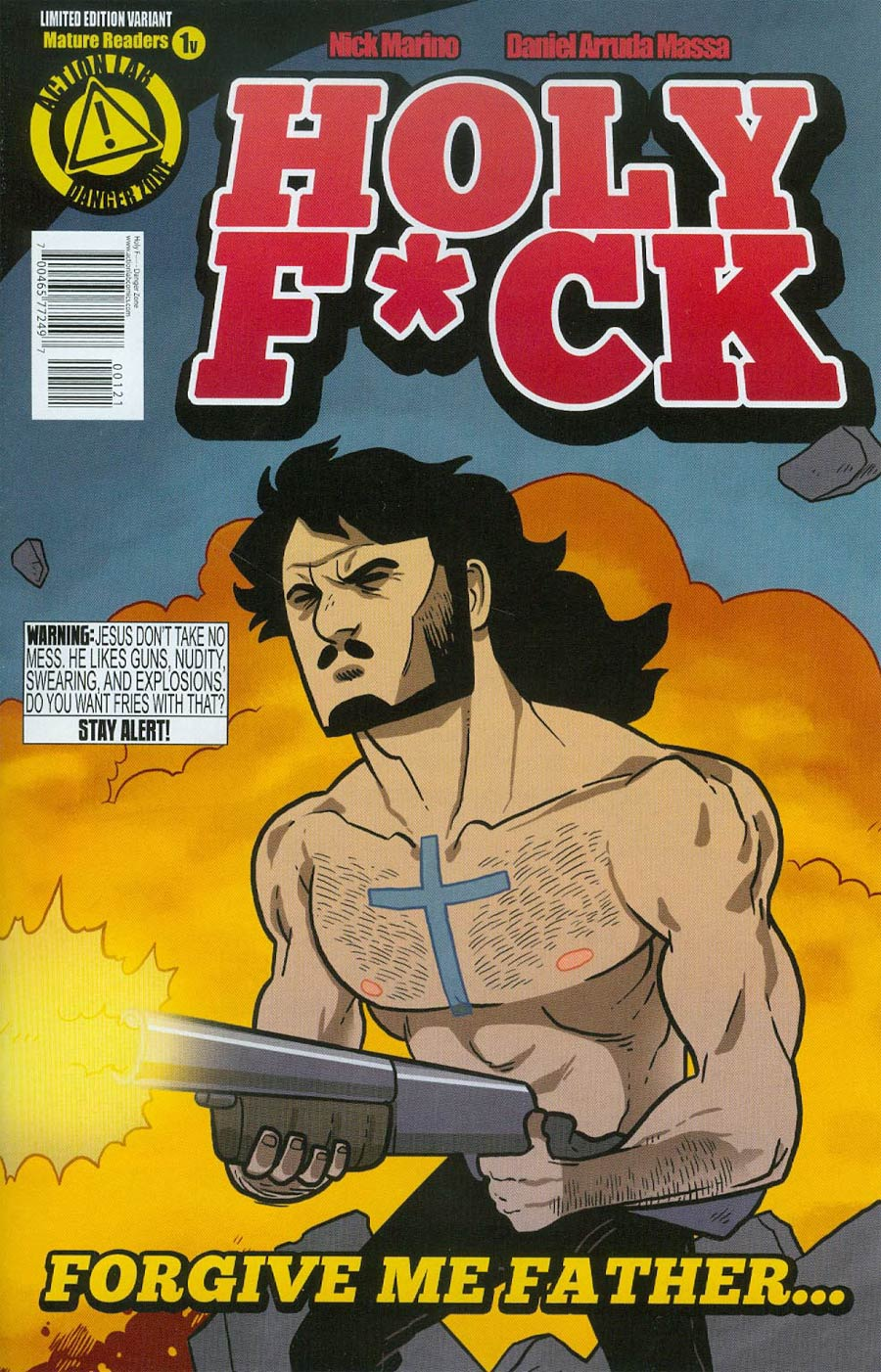 Holy F*ck #1 Cover B Variant Jesus Cover