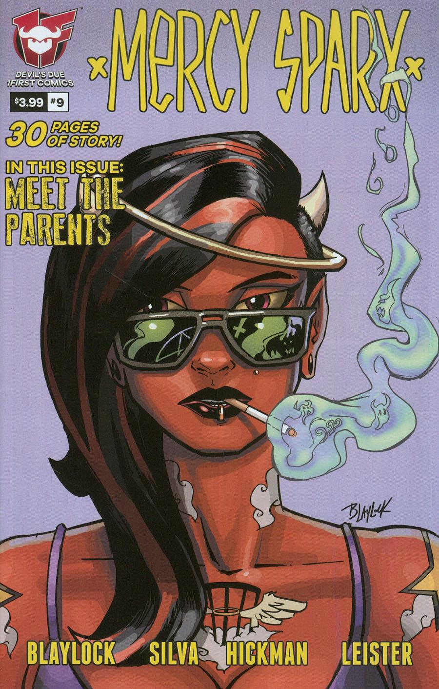 Mercy Sparx Vol 2 #9 Cover A Josh Blaylock
