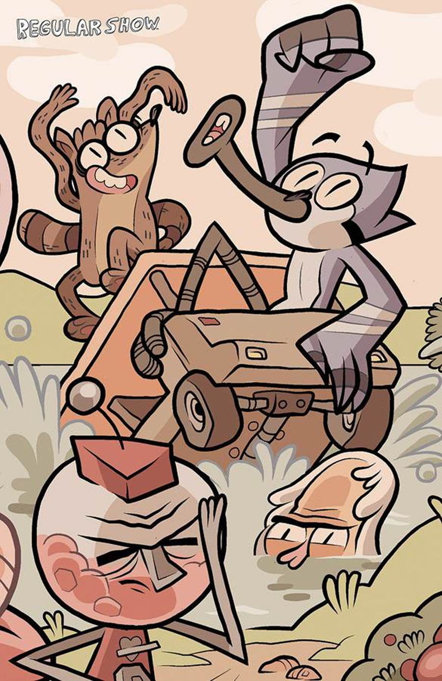 Regular Show #13 Cover E SDCC Exclusive Coleman Engle Connecting Variant Cover (4 Of 4)