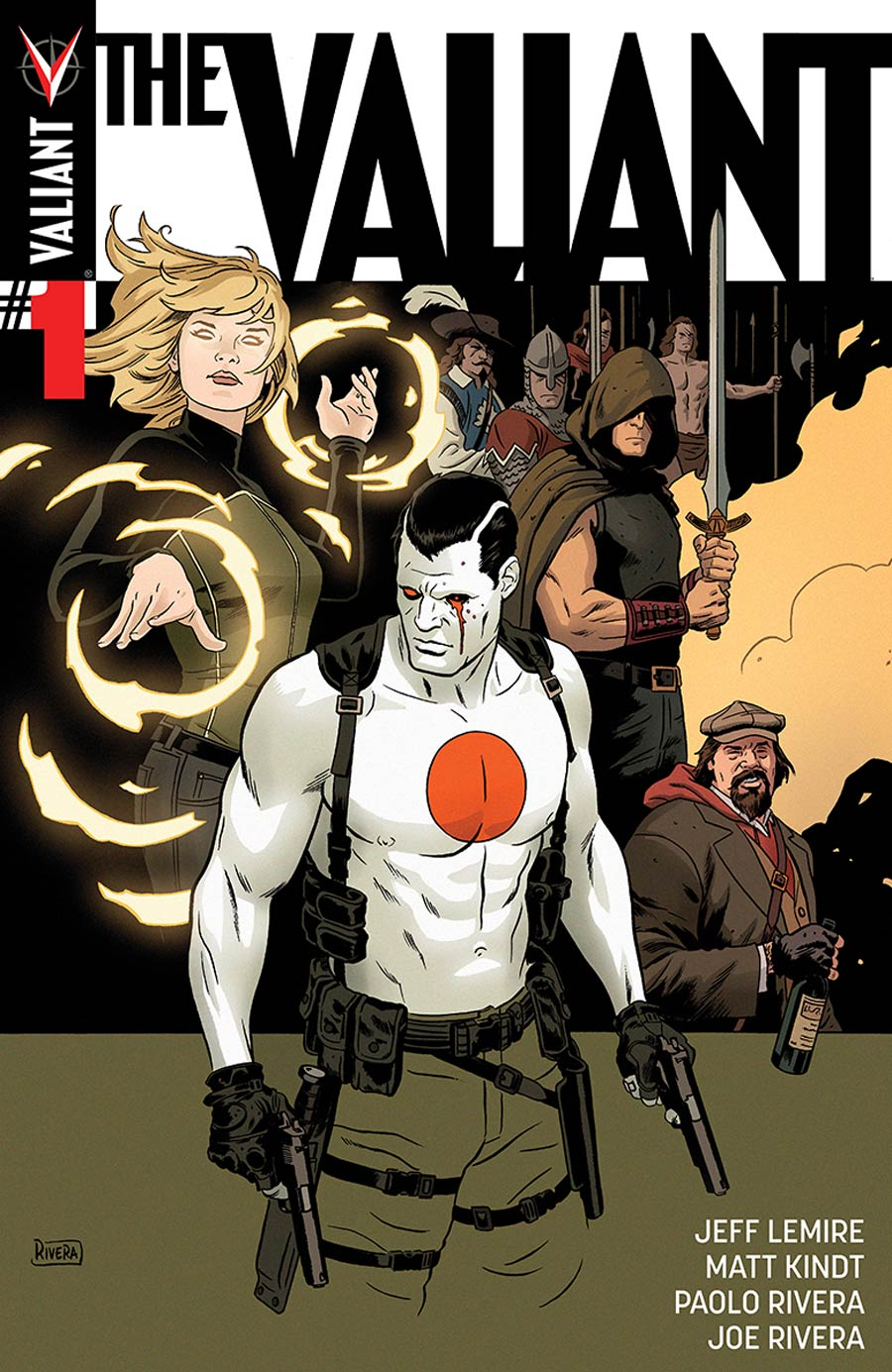 The Valiant #1 Cover A 1st Ptg Regular Paolo Rivera Cover