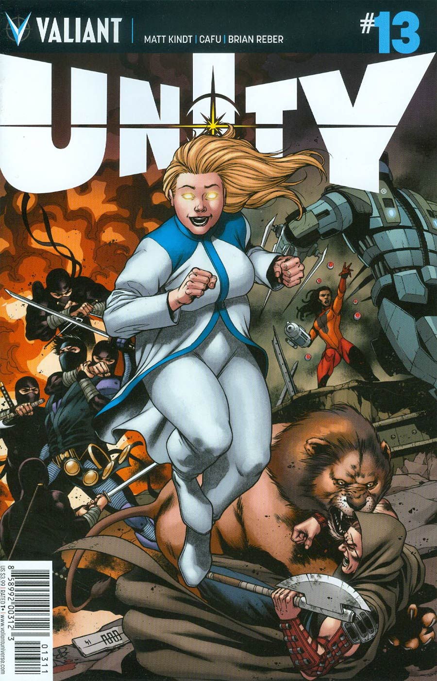 Unity Vol 2 #13 Cover A Regular CAFU Cover