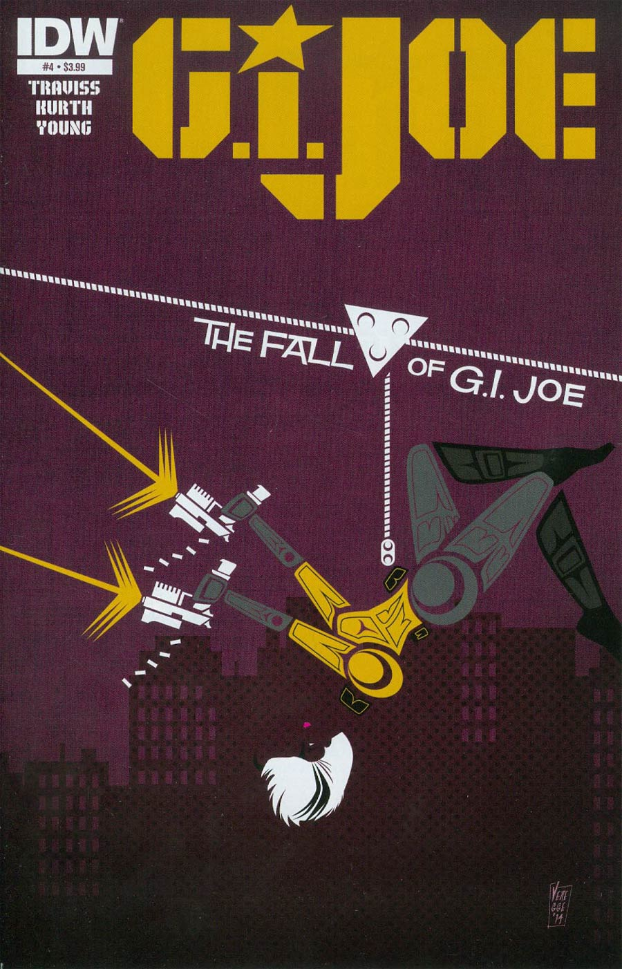 GI Joe Vol 7 #4 Cover A Regular Jeffrey Veregge Cover