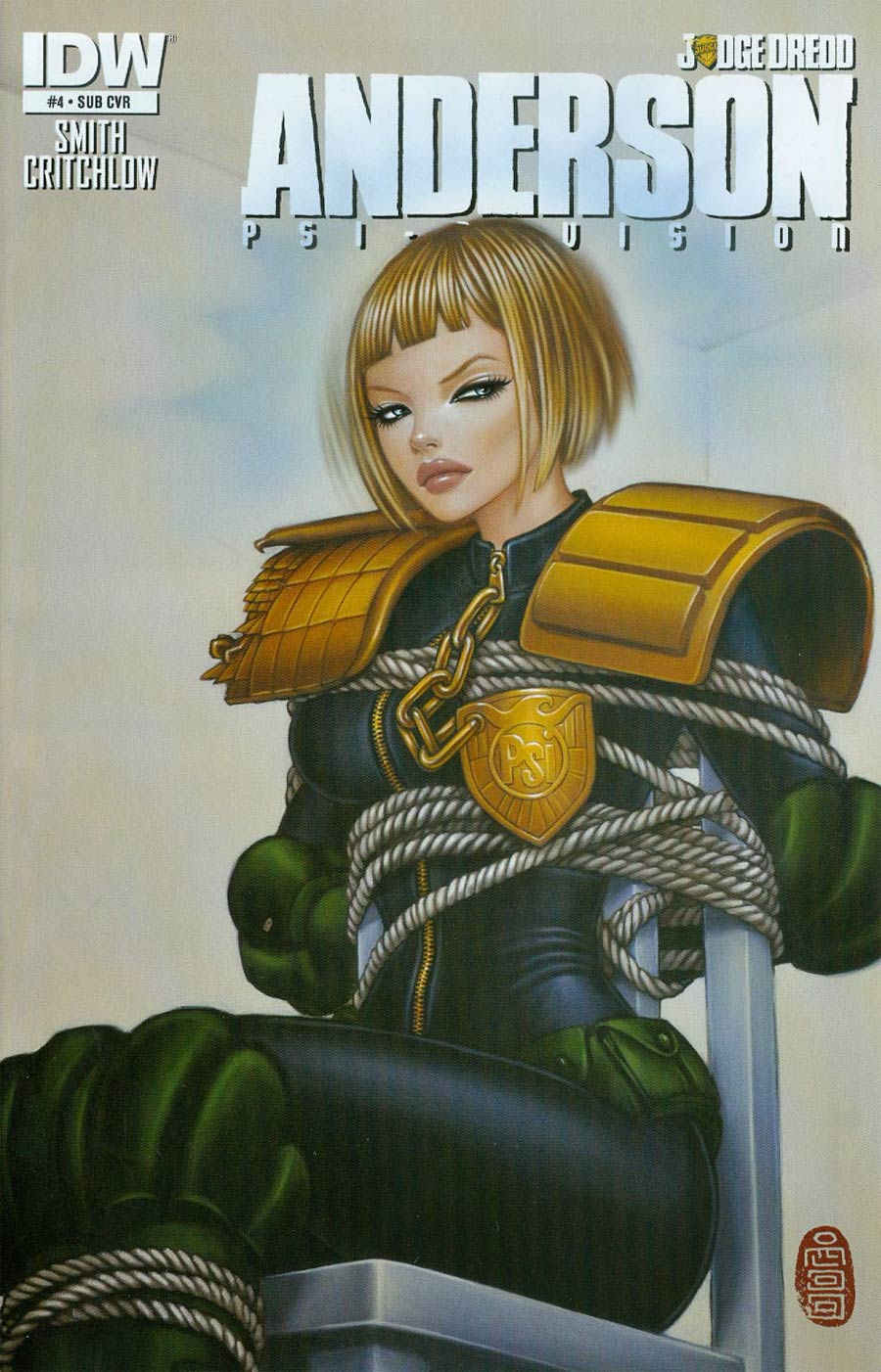 Judge Dredd Anderson Psi-Division #4 Cover B Variant Mimi Yoon Subscription Cover