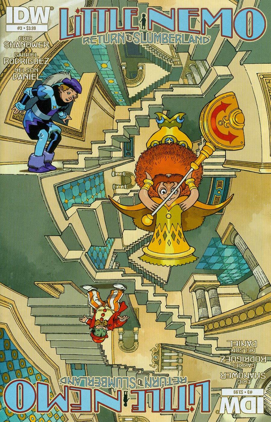 Little Nemo Return To Slumberland #3 Cover A Regular Gabriel Rodriguez Cover