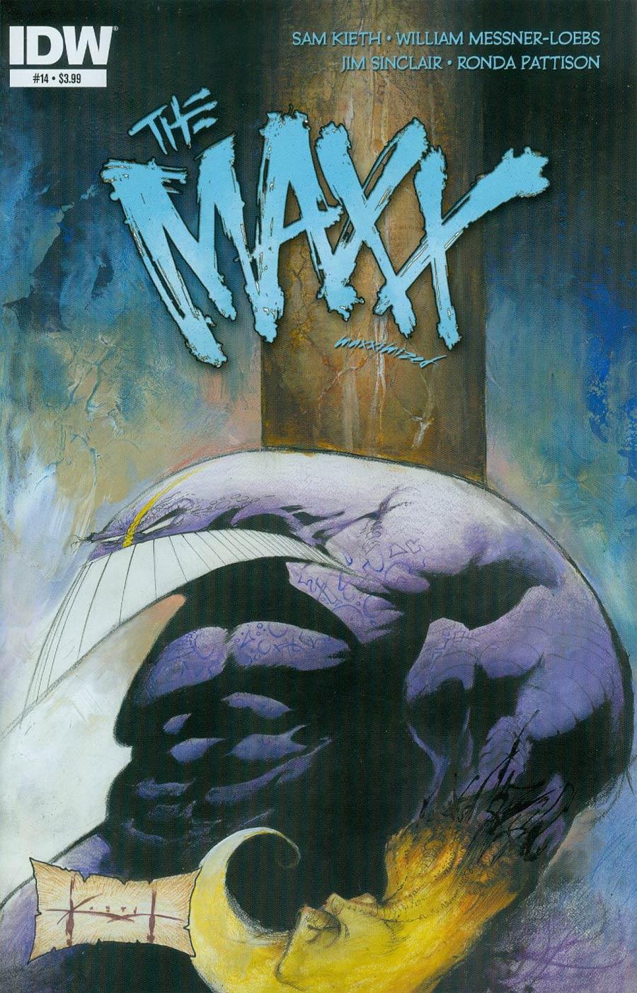 Maxx Maxximized #14 Cover A Regular Sam Kieth Cover
