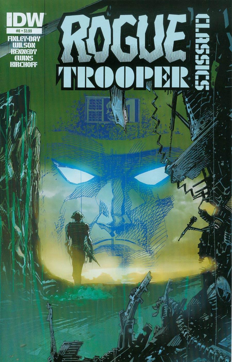 Rogue Trooper Classics #8 Cover A Regular John McCrea Cover