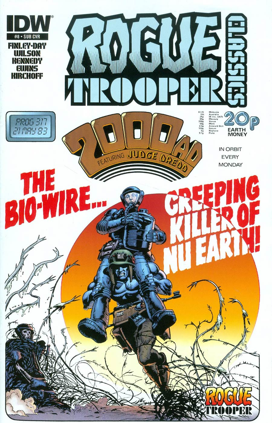 Rogue Trooper Classics #8 Cover B Variant Cam Kennedy Subscription Cover