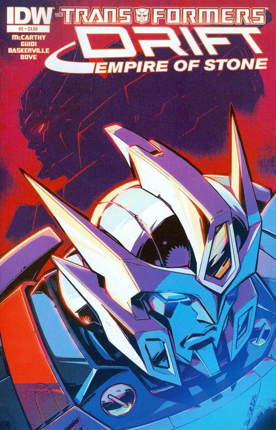 Transformers Drift Empire Of Stone #2 Cover A Regular Guido Guidi Cover