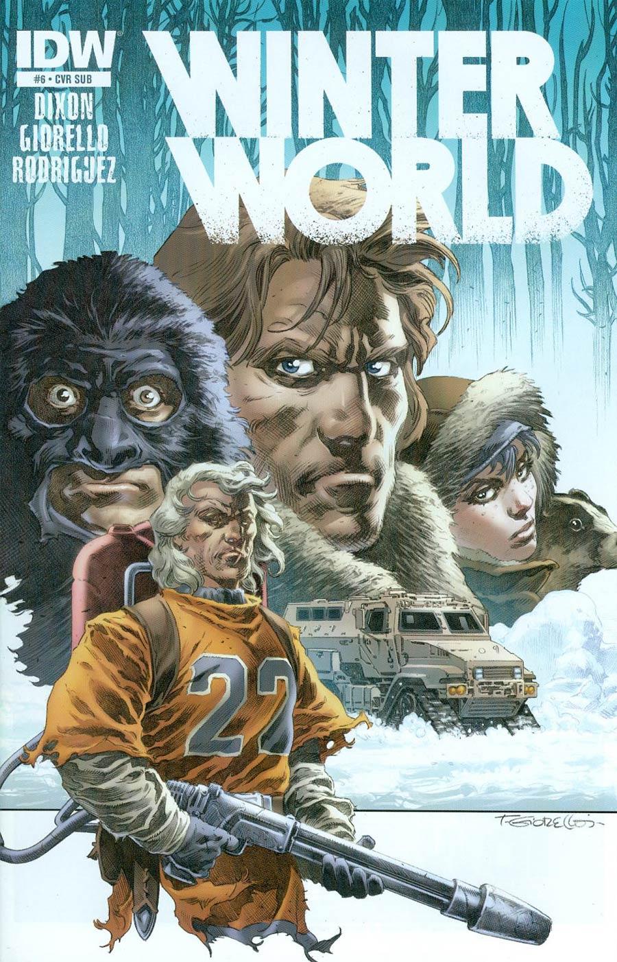 Winterworld Vol 2 #6 Cover B Variant Tomas Giorello Subscription Cover