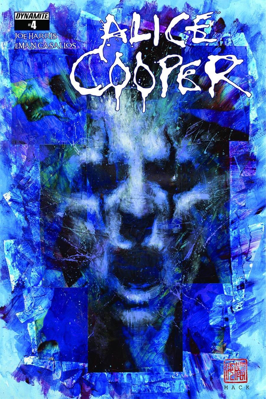 Alice Cooper #4 Cover B Rare David Mack Virgin Cover