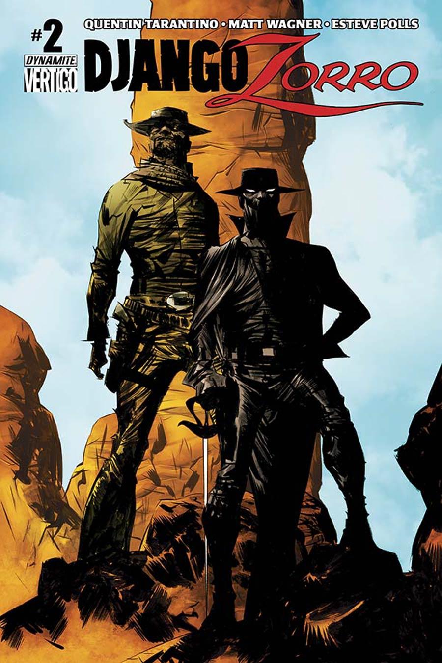 Django Zorro #2 Cover A Regular Jae Lee Cover