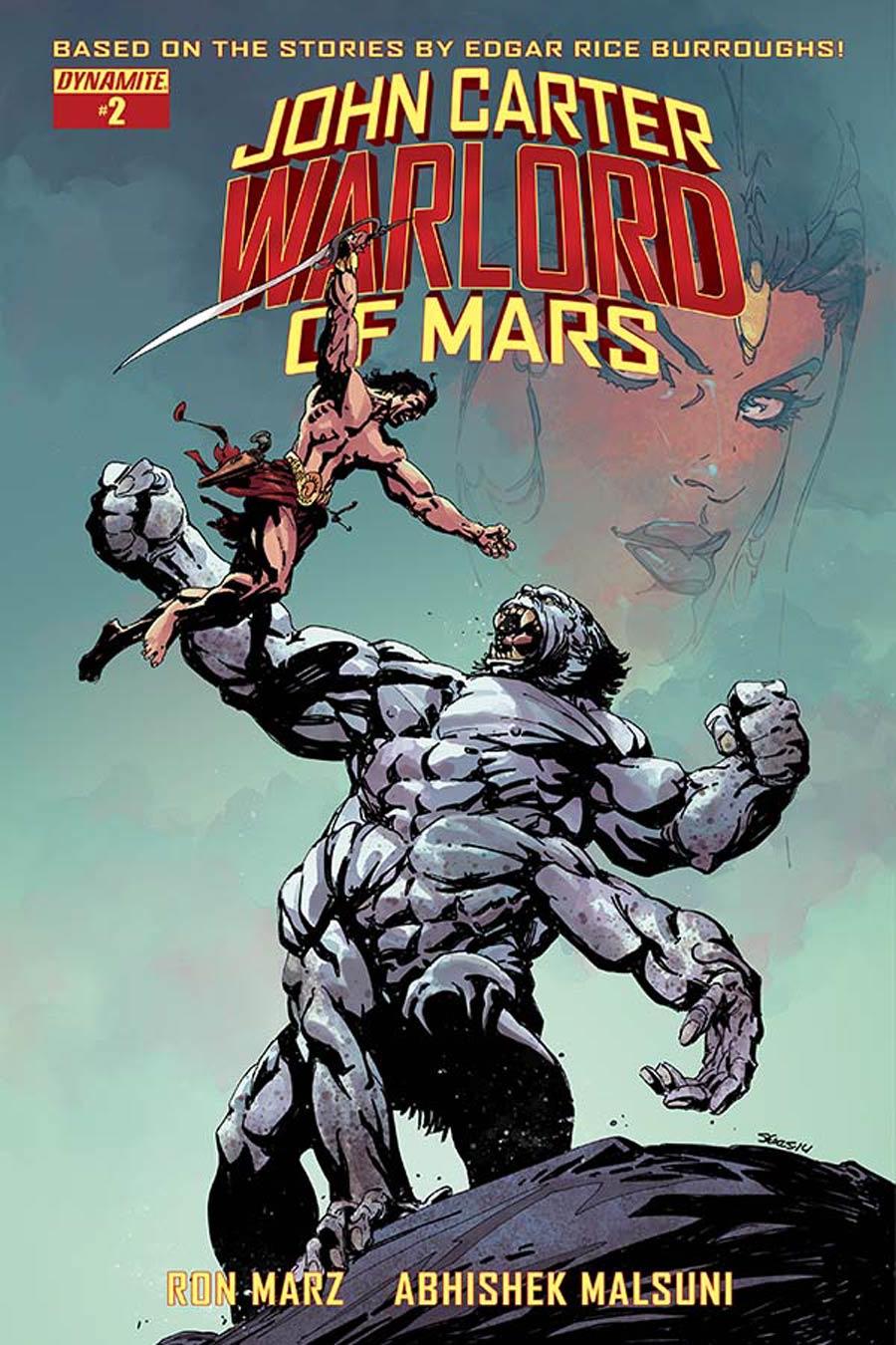 John Carter Warlord Of Mars Vol 2 #2 Cover B Variant Bart Sears Cover